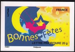 France 2008 / Bonnes Fetes / Card / Uncirculated, Unused - Adhésifs (autocollants)