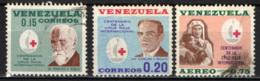 VENEZUELA - 1963 - CENTENARIO DELLA CROCE ROSSA - USATI - Venezuela