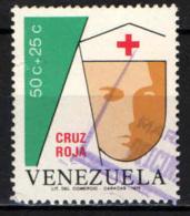 VENEZUELA - 1975 - CROCE ROSSA - USATO - Venezuela