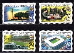 2007 TURKEY THE CENTENARY OF FENERBAHCE SPORTS CLUB MNH ** - 1921-... Republic