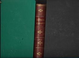 C/ DIETSCHE WARANDE    1890          668p.     PRACHTIGE ROODLEDEREN RUG!! - Antique