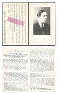 WO 25.  Emile VAN DER TAELEN - Leider Weerstandsbeweging - °ANTWERPEN 1923 / Gesneuveld Te BRASSCHAAT 1944 - Images Religieuses