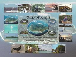 Cook Is. (Rarotonga) 2011 Views-Bird-Plane (15) SHT UN/NUM UM - Cook Islands