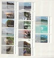 Cook Is. (Rarotonga) 2011 Set Of 15 Views-Bird-Plane UM - Cook Islands
