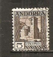 Andorra Española - Edifil 29 - Yvert 29 (usado) (o) - Andorra Española