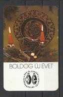 """Hungary, Watches, Candels And HNY From """"Watch And Jewels"""" Co., 1979. - Calendars"""