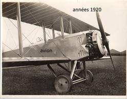 3 Photos Originales Aviation  Avion France Années 1920 Ou 1930. - 1939-45