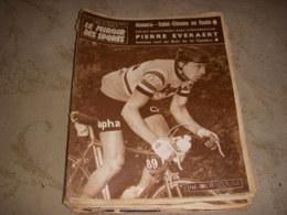 MIROIR Des SPORTS 795 25.04.1960 CYCLISME EVERAERT FOOT REAL MADRID BARCELONE - Sport