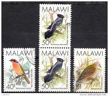 MALAWI 1988 Birds 3 Values Used - Malawi (1964-...)