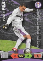 CARTE PANINI ADRENALYN XL LIGUE 1 SAISON 2010-11 TOULOUSE FOOTBALL CLUB YOHANN PELE TOP GARDIEN - Trading Cards