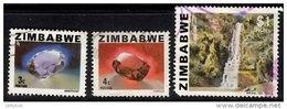 ZIMBABWE 1980 Definitives 3c, 4c, $1 Used - Zimbabwe (1980-...)