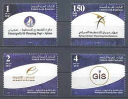 2008-Emirats Arabes Unis-Urban Management- Complete Set  MNH** - United Arab Emirates (General)