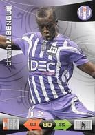 CARTE PANINI ADRENALYN XL LIGUE 1 SAISON 2010-11 TOULOUSE FOOTBALL CLUB CHEIKH M'BENGUE - Trading Cards