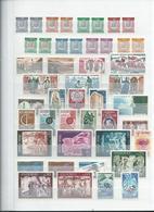 ANDORRE. Collection De Neufs ** Période 1962 - 1986 Sur 5 Pages. Cote Totale: 819 €, Départ 1 € - Collections (with Albums)