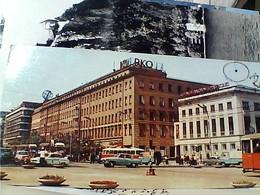 POLAND  POLSKA WARSZAWA ALEJE JEROZOLIMSKIE AUTO  CAR TRAM STAMP TIMBRE  SELO 20 + 3,40 NAVE DAR POMORZA  GX5642 - Polonia