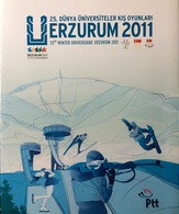 2011 TURKEY 25TH UNIVERSIADE WINTER GAMES ERZURUM SPECIAL FOLDER - Nuevos