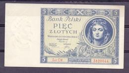 POOL 5 ZLOTI  1930 - Poland