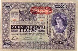 AUSTRIA 10000 KRONEN 1919 P-65 XF - Austria