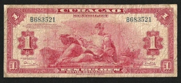 CURACAO 1 GULDEN 1947 PICK-35b F+ RARE - Other - America