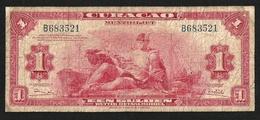 CURACAO 1 GULDEN 1947 PICK-35b F+ RARE - Billets