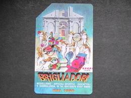 ITALIA SIP - 3295 C&C 202 GOLDEN - PRIVATE PUBBLICHE - BRIGLIADORI DAL 1950 - USATA - Private-Omaggi