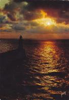 FECAMP Coucher De Soleil Sur La Mer - Fécamp