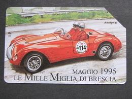 ITALIA SIP - 3360 C&C 269 GOLDEN - PRIVATE PUBBLICHE - MILLE MIGLIA 1995 - USATA - Private-Omaggi