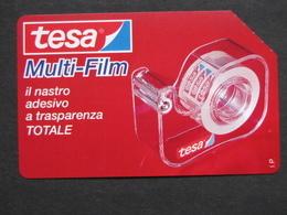 ITALIA - 3302 C&C 209 GOLDEN - PRIVATE PUBBLICHE - TESA MULTI FILM - USATA - Private-Omaggi