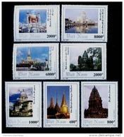 Vietnam Viet Nam MNH Perf Stamps 1993 : South East Asian Ancient Architecture / Mosque / Buddhism (Ms668) - Vietnam