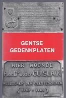 1976 GENTSE GEDENKPLATEN - KAREL HAERENS - Histoire
