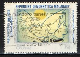 MADAGASCAR - 1981 - COLOMBA DELLA PACE DI PABLO PICASSO - USATO - Madagascar (1960-...)