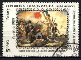 MADAGASCAR - 1989 - BICENTENARIO DELLA RIVOLUZIONE FRANCESE - USATO - Madagascar (1960-...)