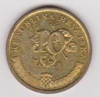 1999 Croazia - 10 Lipa (circolate) Fronte E Retro - Croatie