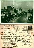 10055)cartolina  Via Dell'impero E Monumento A Vittorio EmanueleIII - Ponts