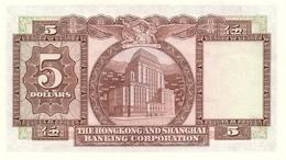 HONG KONG P. 181f 5 D 1975 UNC - Hong Kong