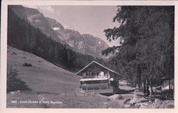 Champéry, Grand Paradis + Tampon Cantine Perrin-Joris Prop. (29.6.29) - VS Valais