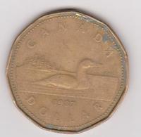 1987 Canada - 1 $. (circolate) Fronte E Retro - Canada