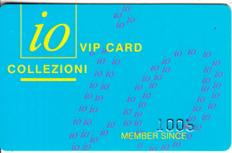 GREECE - IO Collezioni/Domna Moda, Magnetic Member Card, Used - Autres Collections
