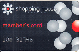 GREECE - Shopping House, Member Card, Used - Autres Collections