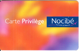 FRANCE - Nocibe, Privilege Member Card, Sample - Autres Collections
