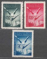 Yugoslavia Republic, Sport 1947 Mi#524-526 Mint Never Hinged - 1945-1992 Socialistische Federale Republiek Joegoslavië