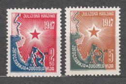 Yugoslavia Republic 1947 Mi#527-528 Mint Never Hinged - 1945-1992 Socialistische Federale Republiek Joegoslavië