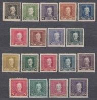 Austria Occupation Of Bosnia 1917 Mi#124-141 Mint Hinged, Not Perfect 3kr - Nuevos