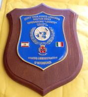 CREST ARALDICO JOINT TASK FORCE LEBANON, OPERAZIONE LEONTE - Insegne
