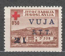 Italy Yugoslavia Trieste Zone B, Red Cross 1948 Mi#1, Sassone#4 Mint Hinged - Mint/hinged