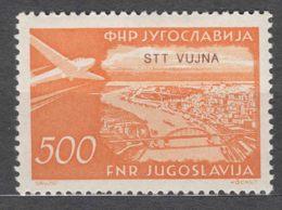 Italy Yugoslavia Trieste Zone B, Airmail 1954 Mi#139, Sassone#31 Mint Hinged - 7. Trieste