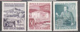 Italy Yugoslavia Trieste Zone B, 1953 Mi#107-109, Sassone#95-97 Mint Never Hinged - Mint/hinged