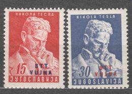 Italy Yugoslavia Trieste Zone B, 1953 Mi#85-86, Sassone#72-73 Mint Never Hinged - Mint/hinged