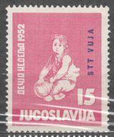 Italy Yugoslavia Trieste Zone B, 1952 Mi#69, Sassone#55 Mint Never Hinged - Mint/hinged