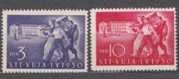 Italy Yugoslavia Trieste Zone B 1950 Mi#44-45 Sassone#31-32 Mint Never Hinged - Mint/hinged